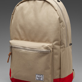 HERSCHEL SUPPLY CO. - Two Tone Backpack Khaki/red