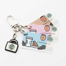 tarout - Mini STARBACKS Cards with Key Chain