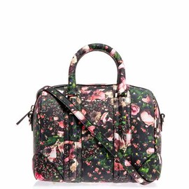 GIVENCHY - Mini lucrezia printed bowling bag