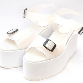 durbuy - TRANSPARRENT DOUBLE STRAP SANDAL