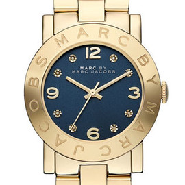 MARC BY MARC JACOBS - 'Amy' Crystal Bracelet Watch