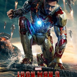 MARVEL - Robert Downey, Jr. takes the stage in a new poster for Marvel's Iron Man 3