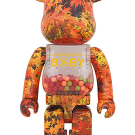MEDICOM TOY - MY FIRST BE@RBRICK B@BY AUTUMN LEAVES Ver.1000%