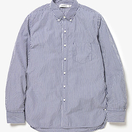 NONNATIVE - DWELLER B.D. SHIRT COTTON BROAD LONDON STRIPE