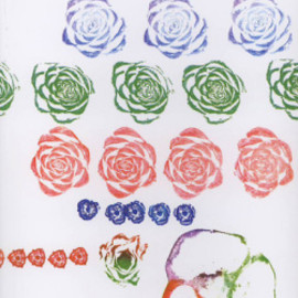 Bruno Munari - roses in the salad