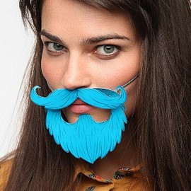 urban outfitters - Awesome Party Beard - Pack Of 8