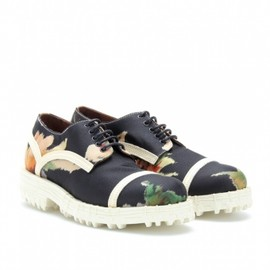 Acne - 2013AW LAURA FABRIC PRINTED SATEEN LACE-UPS