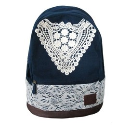 alantt - Cute Backpack with Lace for Girls