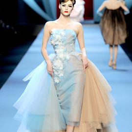 Christian Dior Spring 2011 Couture show in Paris.  by John Galliano.
