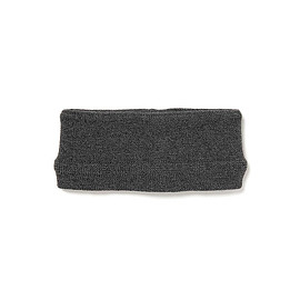 nonnative - HIKER HEAD BAND NZ W/C YARN  CHARCOAL