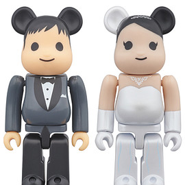 MEDICOM TOY - BE@RBRICK グリーティング 結婚 PLUS 100%