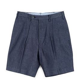 The FRANKLIN TAILORED - Denim Shorts-Indigo