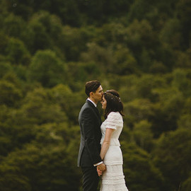 Green Wedding - new zealand wedding
