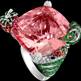 PIAGET - Cocktail-inspired Limelight ring