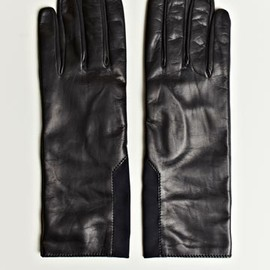 JIL SANDER - Leather Gloves