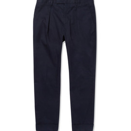 MARNI - 2013 SS Pleated Cotton-Twill Trousers