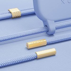 XOUXOU - Baby Blue Silicone Case + Rope