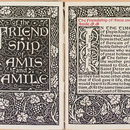 William Morris - Of the Friendship of Amis and Amile, Kelmscott Press, 1894.