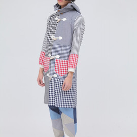 wed - Switch Gingham Check Shirts Coat