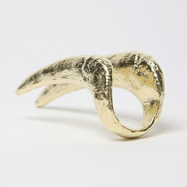 BJØRG  - ODYSSEY HOWLING AT THE MOON CLAW KNUCKLE RING
