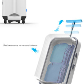 YANKO DESIGN - Vacuum Packed Suitcase