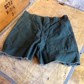 U.S.Army - Cut Off Utility Pants(1960~1970年代 Vintage)