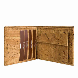 Corkor - Cool Wallet for Men Made from Cork / Best Gift Ideas for Men's / Leather Free Wallet / from Corkor
