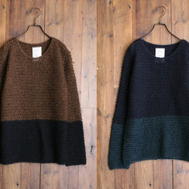 SHAREEF - MOHAIR 2TONE KNIT