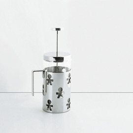 ALESSI - Girotondo Press Filter Coffee Maker