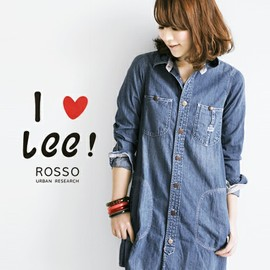 ROSSO - ROSSO×LEE Spring & Summer 別注ワークワンピース