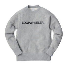 "LOOPWHEELER - LW Light ""LOOPWHEELER""freedom sleeve pullover"
