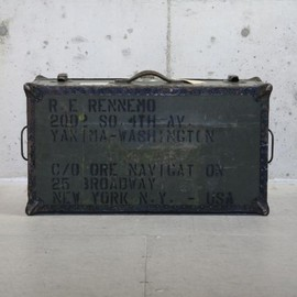 old military box