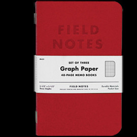 FIELD NOTES - RED BLOODED