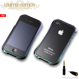 Deff - CLEAVE ALUMINIUM BUMPER for iPhone4 LIMITEDEDITION ジュエルビートル