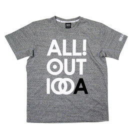 ONEHUNDRED ATHLETIC - 100A COTTON S/S ALL OUT GRAPHIC TOP