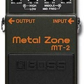 BOSS - Metal Zone メタル・ゾーン MT-2