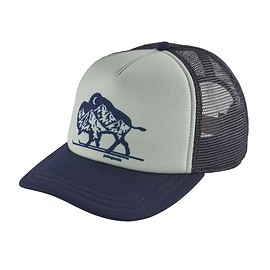 patagonia - W's Nordic Bison Interstate Hat, Classic Navy (CNY)