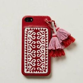 Anthropologie - Anthropologie - Embroidered iPhone 5 Case