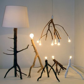 Elin Riismark - Tree Branch Lamp