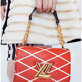 Louis Vuitton - Red Epi Twist Malletage Bag