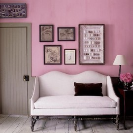 the couch, the cushion, the wall colour!