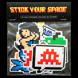 invader - STICK YOUR SPACE STICKERS