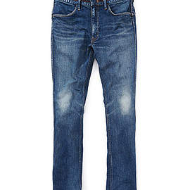 "nonnative - DWELLER TIGHT FIT JEANS COTTON 13oz DENIM STRETCH VW ""FORT WORTH"""