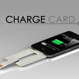 ChargeCard for iPhone and Android by Noah Dentzel + Adam Miller
