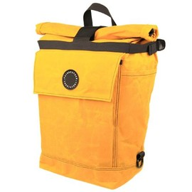 FAIRWEATHER - *FAIRWEATHER* pannier (waxed yellow)