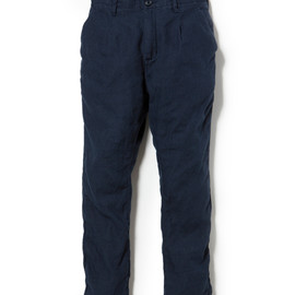 nonnative - POSTMAN PANTS C/L OXFORD