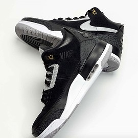 Jordan Brand, NIKE - Air Jordan 3 Tinker - Black/Cement Grey/Metallic Gold