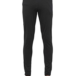 GIVENCHY by Riccardo Tisci - COTTON JERSEY ANKLE ZIP LEGGINGS (bk)(2014ss)
