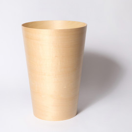 WOODEN BUCKET S NATURAL