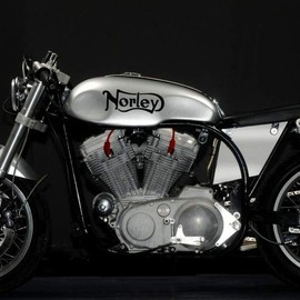 Norley - Cafe Racer by Santiago Chopper